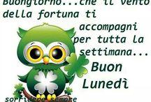 LUNEDI MONDAY