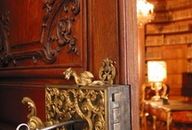 Decorative door locks and handles. / Beautiful decorative and vintage door locks and handles.
