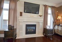 Spaces: Fireplaces / Cozy up to the fireplaces available in our RE/MAX Escarpment listings