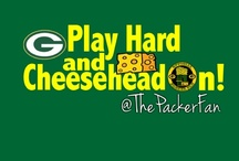 We Bleed Green & Gold! / The Packers.  Plain and simple.