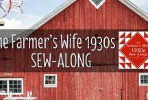 Farmer's Wife Quilt II - les années 30