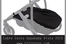 Uppababy Vista 2015 / Todos los artículos tititnins disponibles para la silla Uppababy Vista 2015. #tititnins #uppababy #uppababyvista2015 #uppababyvista