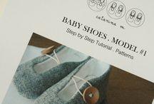 Zapatitos bebe / diseños, patrones, diseñadores y libros