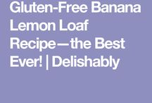 Gluten free deserts & cake