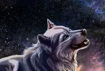 lobos, wolfs