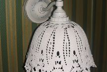 Crochet and Knitted Lampshades