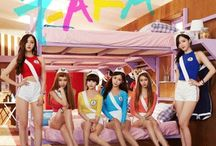 """T-ara / T-ara (/tiˈɑːrə/; Korean: 티아라; Japanese: ティアラ; often stylized as T-ARA, T♔ARA, or recently, TΛRΛ) is a South Korean girl group that debuted in 2009 under Core Contents Media, now known as MBK Entertainment. Before their debut, there was a high level of interest in the group as they were called the """"Super Rookies"""" and had been training for three years prior."""