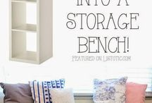Home storage hacks and ideas