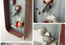 Arte en caja - Shadow box art
