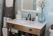 Inspiration: Kitchen & Bath / Why we love reclaimed kitchen & bath products! Hint: they don't all look vintage!