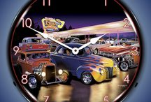Lighted Wall Clocks For Cars, Motorcycles, Trucks, and More / We sell Lighted Wall Clocks for Cars, Motorcycles, Trucks and more. If you are an automobilia, racing, DIY or motorhead enthusiast, you will love our collection of backlit clocks. All of the high quality nostalgic, antique, motor-head, tractor, gas station, military and wildlife related clocks are manufactured in America. These clocks will make a great addition to your garage, game room, office, workshop, bar, basement or favorite hangout.