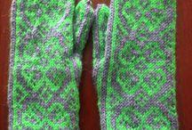 HECHO POR MI / Las cosas que he hecho conos manos, de punto, crochet, abalorios, bolsos...