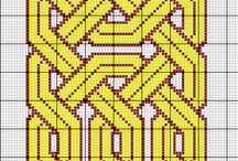 Celtic knot cross stitch