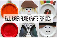 fall paper plates