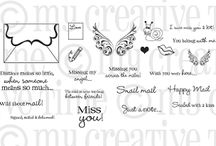 Happy Mail / Inspiration for this stamp set!