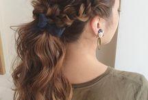 hair arrange