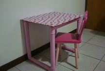 Mesas e mesinhas