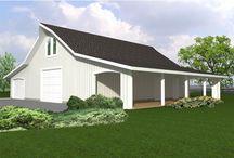 Outbuilding Plans / Outbuilding Plans and Agricultural Building Plans