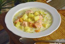 Lazacos ételkülönlegességek / Lazacos receptkülönlegességek az ízesélet.hu-ról