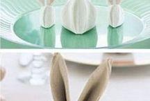 Serviettes de table pliage