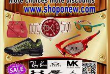 More choices more discounts / More choices more discounts
