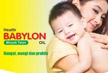 Babylon Oil Minyak Telon / Minyak telon untuk bayi yang hangat, wangi dan praktis