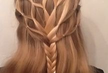a Hair Styles and BRAIDS // Peinados trenzas