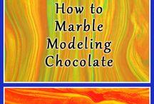 modelling chocolates