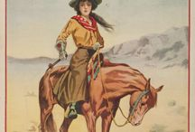 Cowgirl Illustrations
