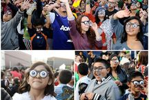 New Guinness World Record from Private Island Party / Children and adult took part in a new Guinness World Record which sponsored by us for the largest gathering of people wearing googly eye glasses in Los Angeles on last Friday (October 25).