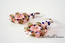 Beaded earrings / Handmade beaded earrings
