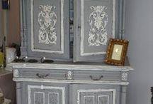 Relooking Meubles / Inspirations et créations de meubles anciens relookés