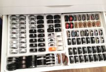 Makeup organization / Things to buy so I can organize my makeup