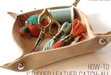 Crafts - leather/leder