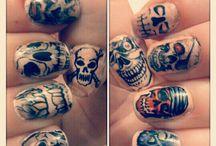 Ruedas-Skull-Tatuajes-Posiones