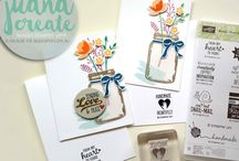 Jar of love - Stampin'Up 2017 / card ideas