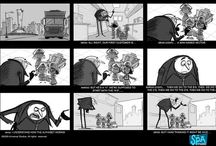 Storyboard / Storyboards from animation films