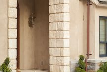 Using Stone in Your Front Entry / Your front entry sets the style for the rest of your home. Stone veneers and pathways can match your style whether a craftsman, beach, mediterranean, rustic, traditional or something in between as well as adding a sense of permanence every home wants to convey.