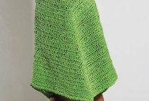 Crochet simple u can see dress kid