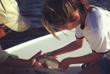 Take a Kid Fishing / Share your love of the outdoors by taking a kid fishing.