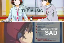 Anime; Sad and Happy