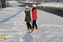 Murg-Auen-Park in Frauenfeld / Der Murg-Auen-Park steht eigentlich noch im Aufbau. Bei starkem Schneefall werden jedoch sämtliche noch vorhandenen Unschönheiten unter dem Schneemantel verhüllt. Kurz nach Weihnachten 2014 hat sich der Park in ein Winterparadies verwandelt und bietet schon mal einen Vorgeschmack auf das, was nach der Fertigstellung des Parks zu erwarten sein kann. Diverse kleiner Wege und Brücken können beliebig zu verschiedenen Spazier-Routen kombiniert werden.