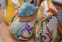 Stitching with thread / by Margaret Cooper