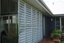 Privacy blinds and shutters
