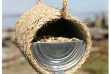 Ptačí krmítka DIY