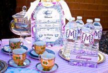 Victorian Chic Tea Party Birthday