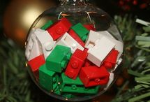christmas ornament stuff / by Christine Bailey