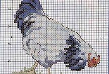 Cross Stitch - Chicken