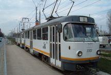 RATB bucharest trams