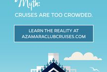 Cruise Myths & Misconceptions / We're busting myths about the cruise industry! https://www.azamaraclubcruises.com/discover/cruise-myths-misconceptions / by Azamara Club Cruises